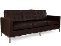 Image du mobilier design Lounge Knoll 3 Places - Marron