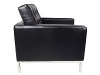 Image du mobilier design Poltrona Lounge Knoll-Nero