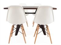 Image du mobilier design Table Prouvé et 4 chaises