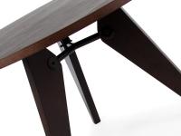 Image du mobilier design Table Prouvé ronde et 6 chaises