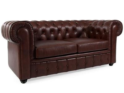 Image du mobilier design Canapé Chesterfield 2 Places - Marron