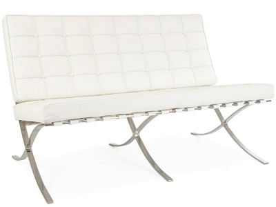 Image du mobilier design DiDivano Barcelona 2 posti - Bianco
