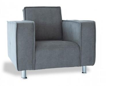 """Image du mobilier design Fauteuil Poleric - laine gris """"Elephant"""""""