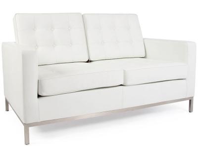 Image du mobilier design Lounge Knoll 2 Places - Blanc