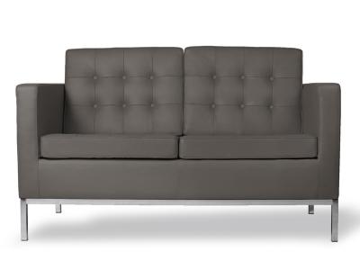 Image du mobilier design Lounge Knoll 2 Places - Gris