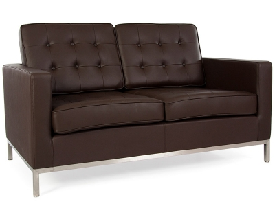 Image du mobilier design Lounge Knoll 2 Places - Marron