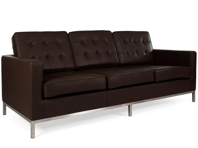 Image du mobilier design Lounge Knoll 3 Places - Marron