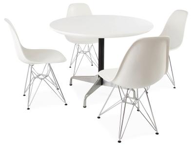 Image du mobilier design Table Eames Contract et 4 chaises