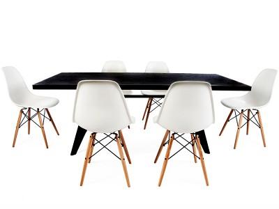 Image du mobilier design Tavola Prouvé con 6 sedie