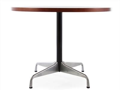 Image du mobilier design Tavola rotonda Eames Contract - Faggio