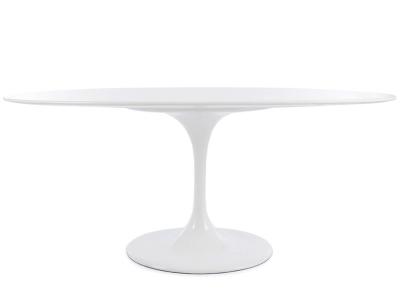 Image du mobilier design Tavolo ovale Tulip Saarinen