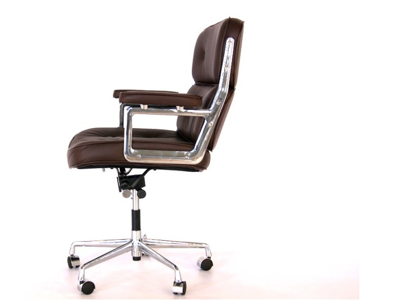 Image de la chaise design Eames Lobby ES104 - Marrón