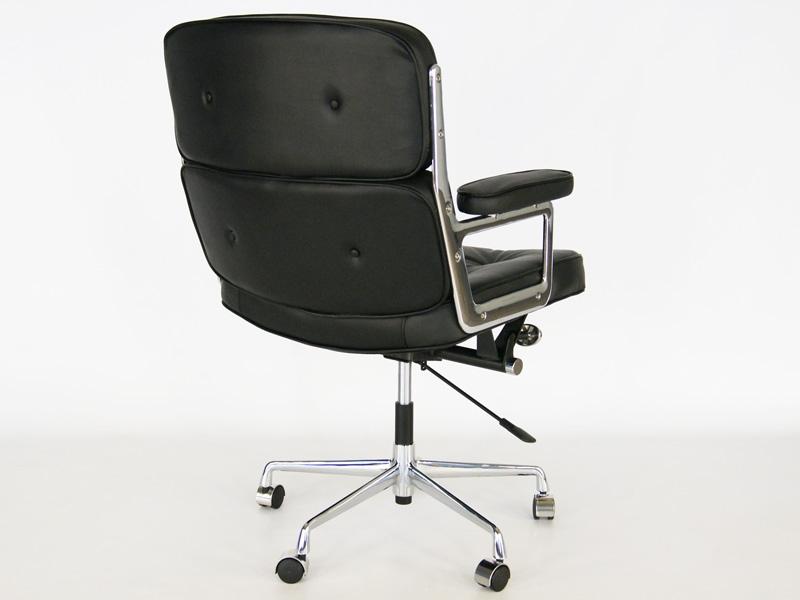 Image de la chaise design Eames Lobby ES104 - Negro
