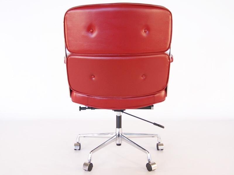 Image de la chaise design Eames Lobby ES104 - Rojo oscuro