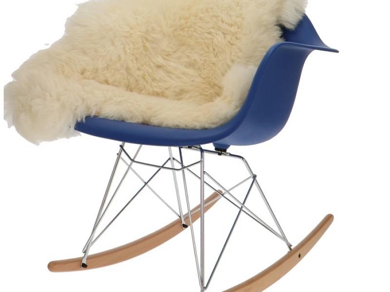 Image de la chaise design Eames Rocking Chair RAR - Azul oscuro