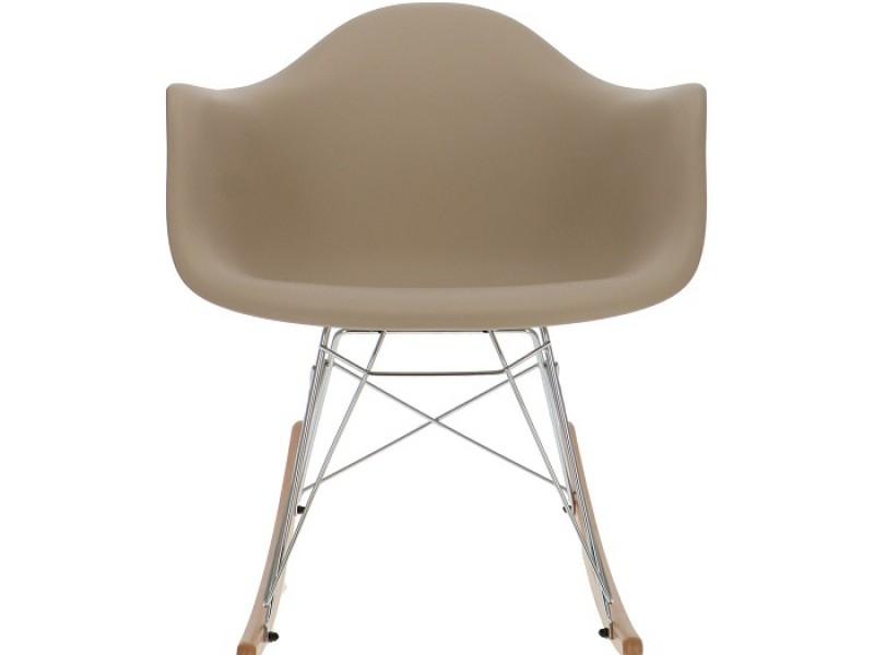 Image de la chaise design Eames Rocking Chair RAR - Beige gris
