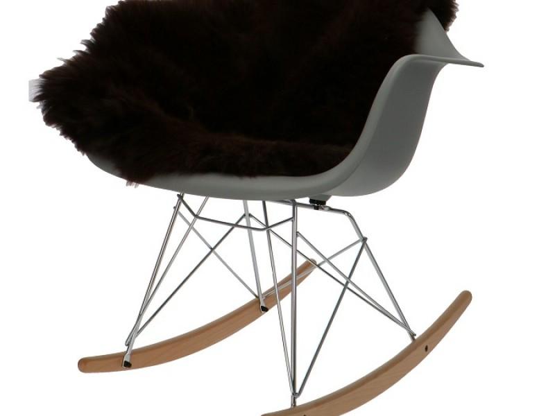 Image de la chaise design Eames Rocking Chair RAR - Gris