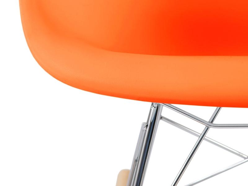 Image de la chaise design Eames rocking chair RAR niño - Naranja