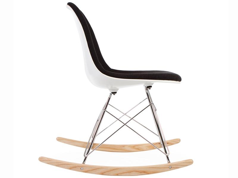 Image de la chaise design Eames RSR Almohadillado - Gris