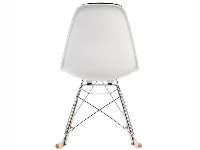 Image de la chaise design Eames RSR Almohadillado - Negro