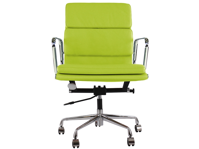Image de la chaise design Eames Soft Pad EA217 - Verde manzana