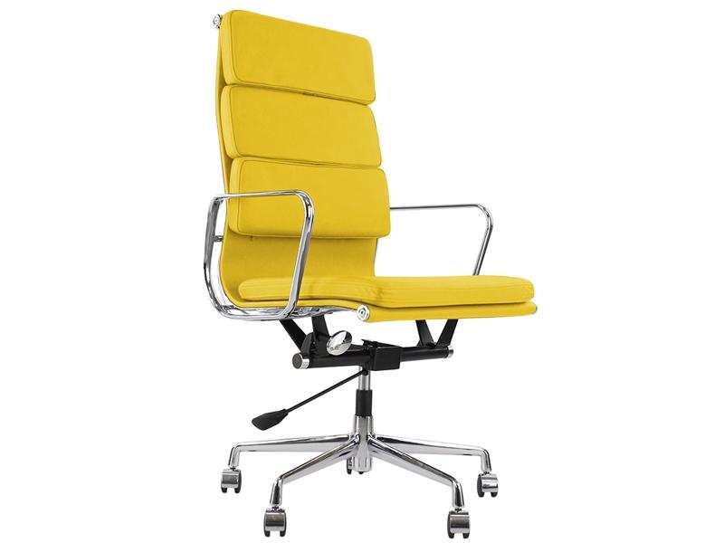 Image de la chaise design Eames Soft Pad EA219 - Amarillo