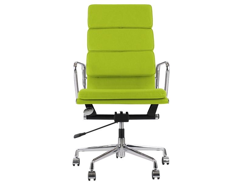Image de la chaise design Eames Soft Pad EA219 - Verde manzana