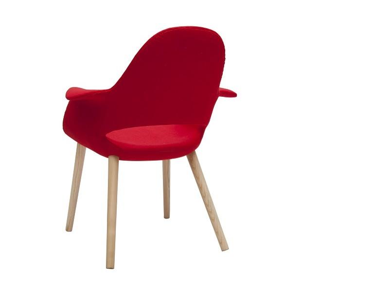 Image de la chaise design Eero Aarnio Organic Chair - Rojo