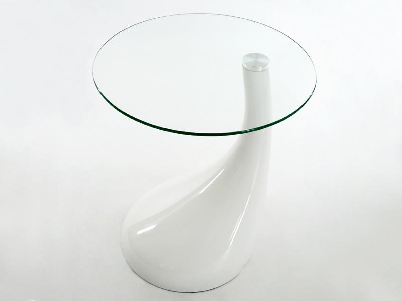 Image de la chaise design Mesa auxiliar Scoop - Blanco