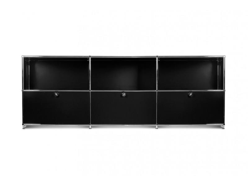 Image de la chaise design Mobiliario de oficina - Amc23-02 Negro