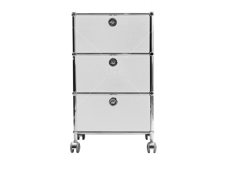 Image de la chaise design Mobiliario de oficina - AMMP301 blanco