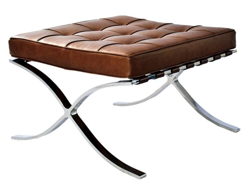 Image de la chaise design Ottomane Barcelona - Caramelo