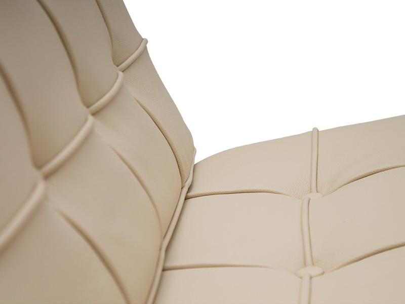 Image de la chaise design Silla Barcelona - Crema