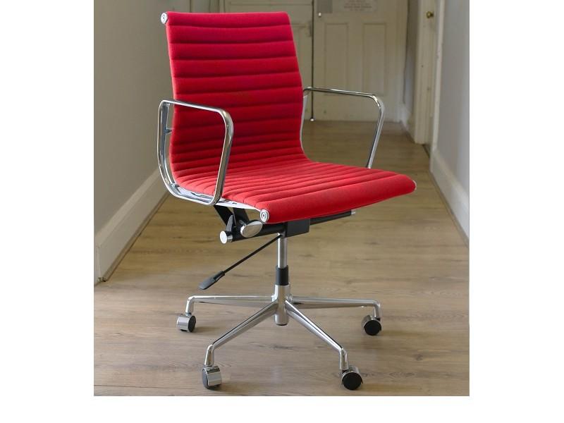 Image de la chaise design Silla COSY Office Chair 117 - Rojo
