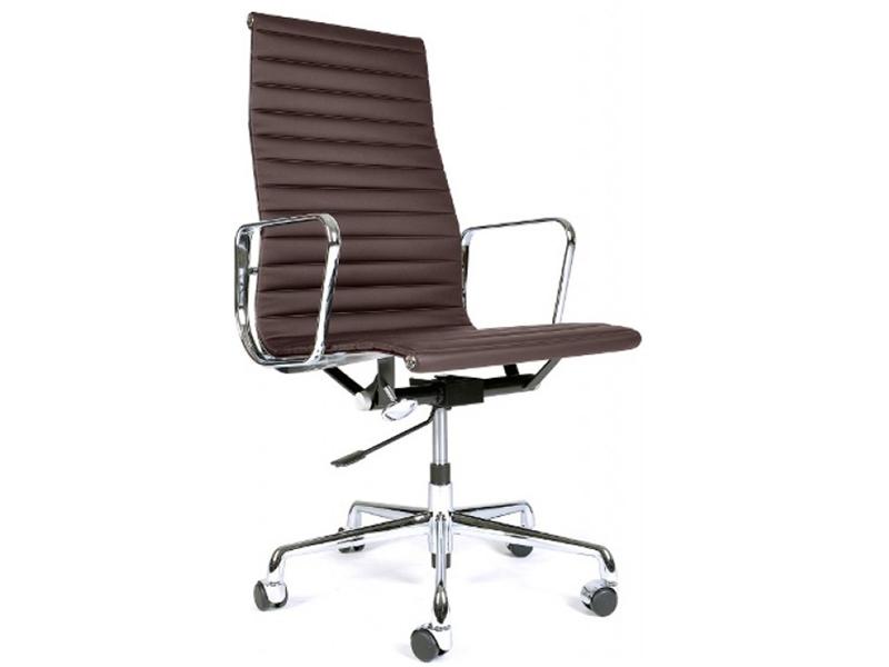 Image de la chaise design Silla COSY Office Chair 119 - Marrón oscuro