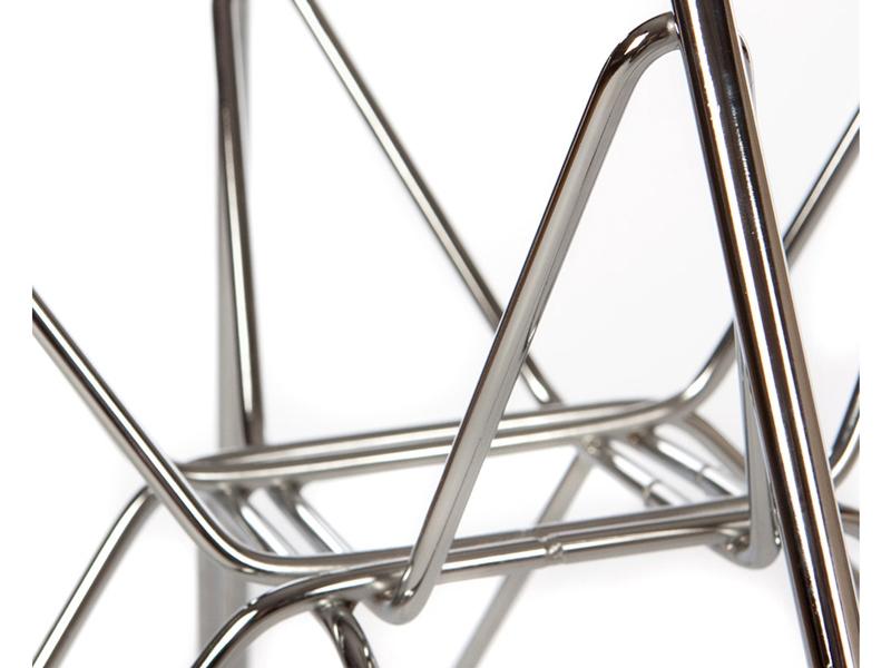 Image de la chaise design Silla DAR acolchada lana - Gris