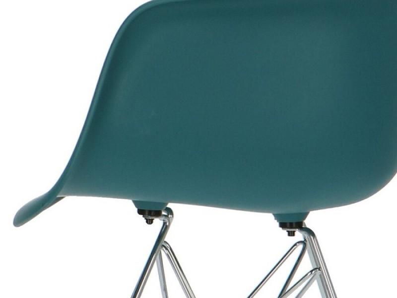Image de la chaise design Silla DAR - Azul verde