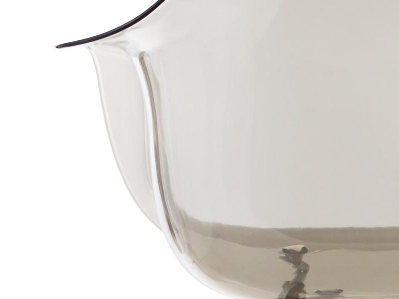 Image de la chaise design Silla DAW All Ghost - Gris ahumado