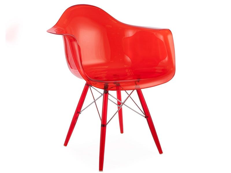 Image de la chaise design Silla DAW All Ghost - Rojo