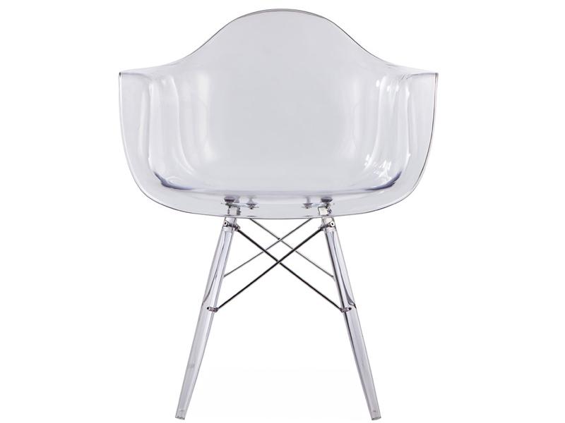 Image de la chaise design Silla DAW All Ghost - Transparente