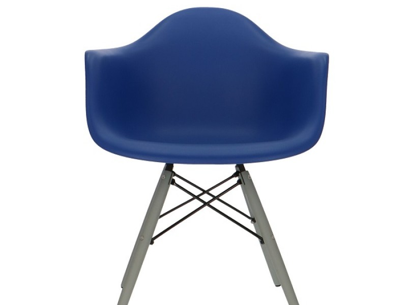 Image de la chaise design Silla DAW - Azul oscuro
