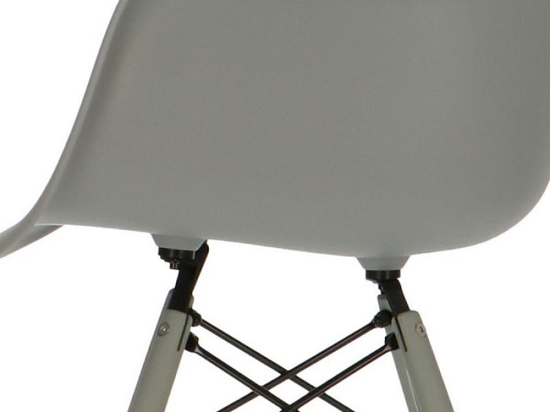 Image de la chaise design Silla DAW - Gris