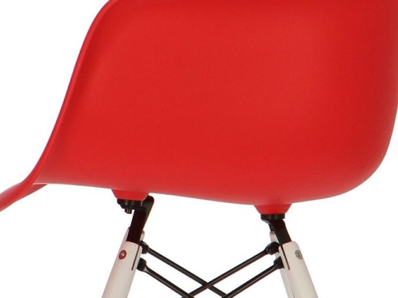 Image de la chaise design Silla DAW - Rojo