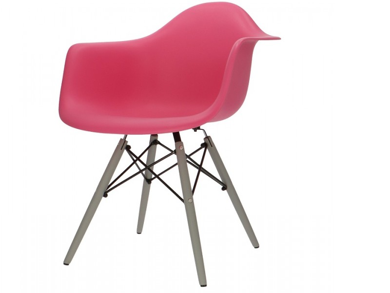 Image de la chaise design Silla DAW - Rosa