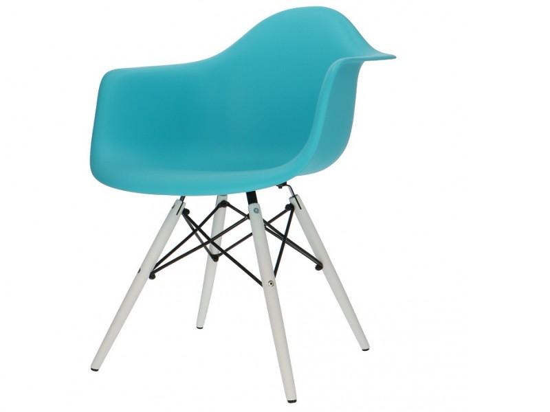 Image de la chaise design Silla DAW - Turquesa
