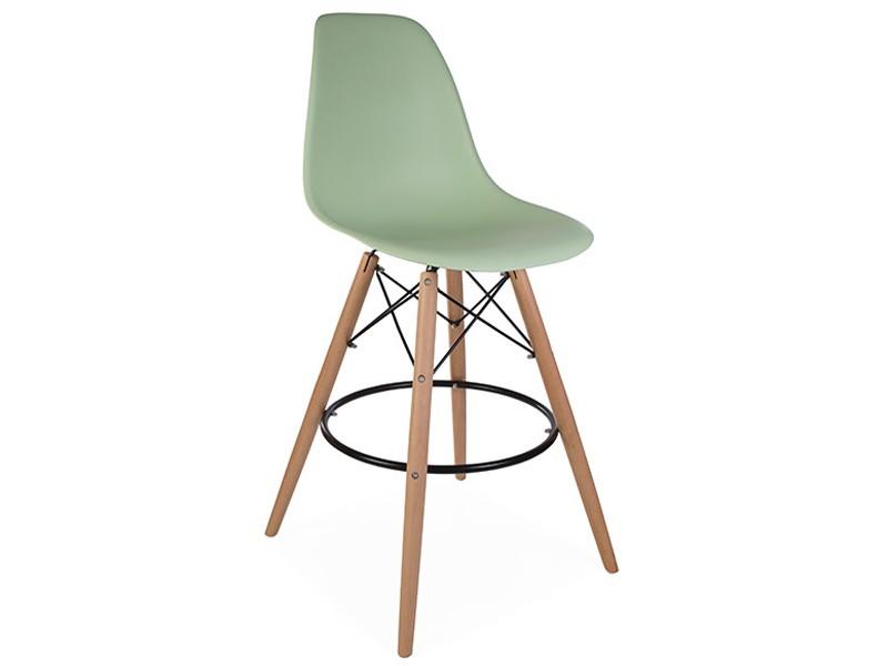 Image de la chaise design Silla de bar DSB - Almendra verde