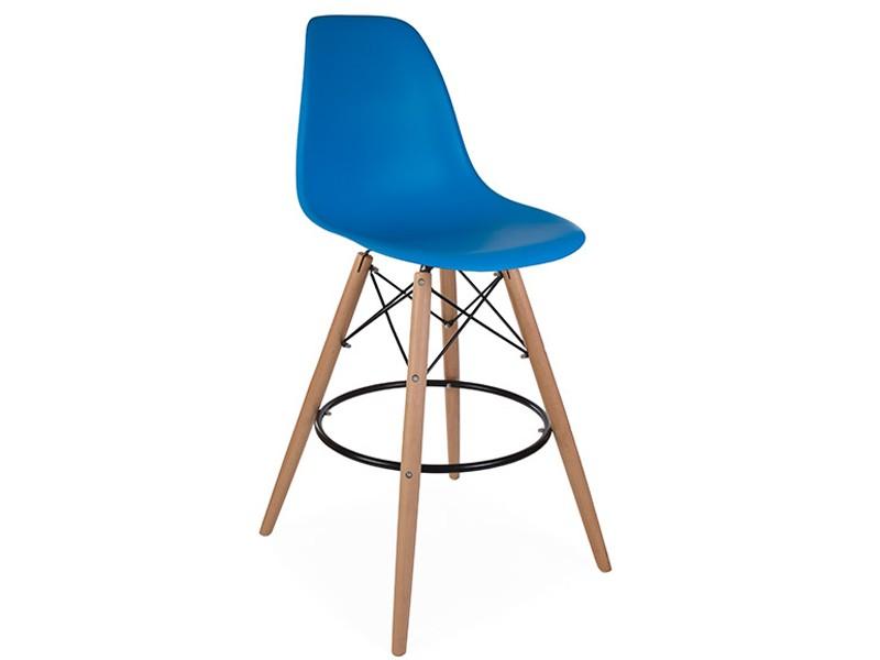 Image de la chaise design Silla de bar DSB - Azul marino