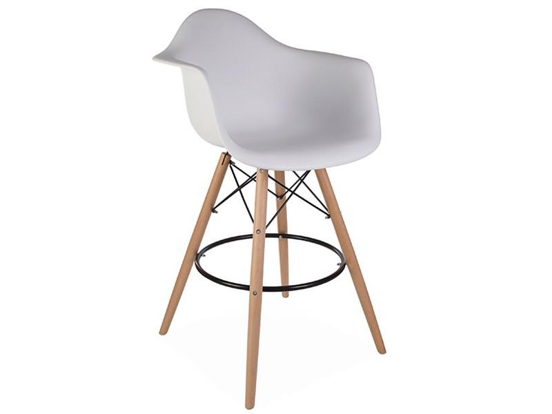 Image de la chaise design Silla de barra DAB - Blanca