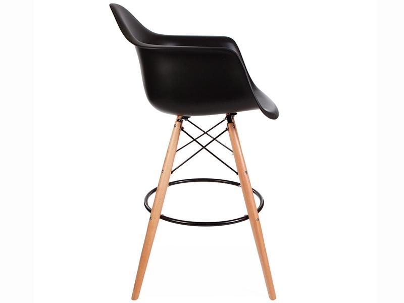 Silla de barra dab negro for Precio de sillas para barra