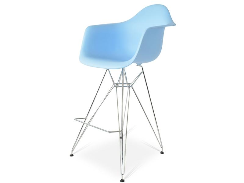 Image de la chaise design Silla de barra DAR - Azul